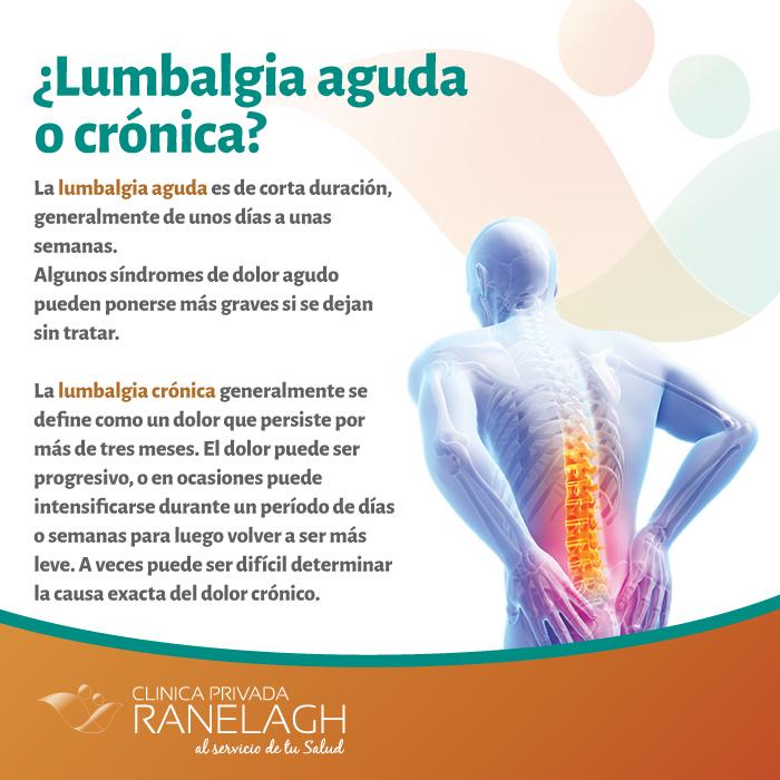 Diagnóstico de la lumbalgia